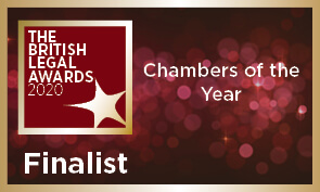 XXIV shortlisted for Chambers of the Year in the British Legal Awards 2020