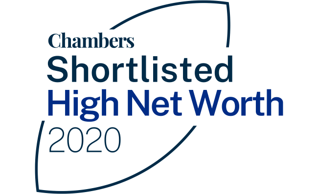 XXIV shortlisted for two categories in the Chambers High Net Worth Awards 2020