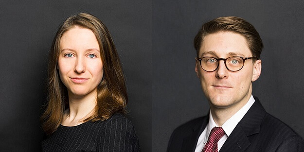 Heather Murphy and Matthew Watson speaking on fraud and insolvency panel at Company & Insolvency event