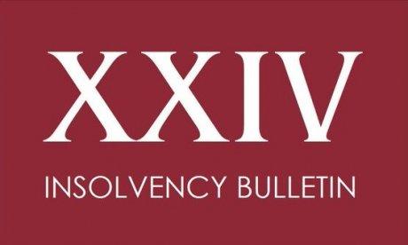 Insolvency Bulletin: May 2017