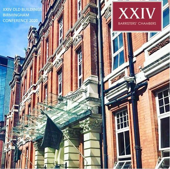 XXIV Old Buildings Birmingham Conference 2020