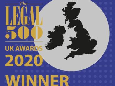 Elspeth Talbot Rice QC Winner at Legal 500 2020 Awards
