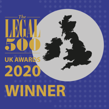 Elspeth Talbot Rice QC Winner at Legal 500 2020 Awards