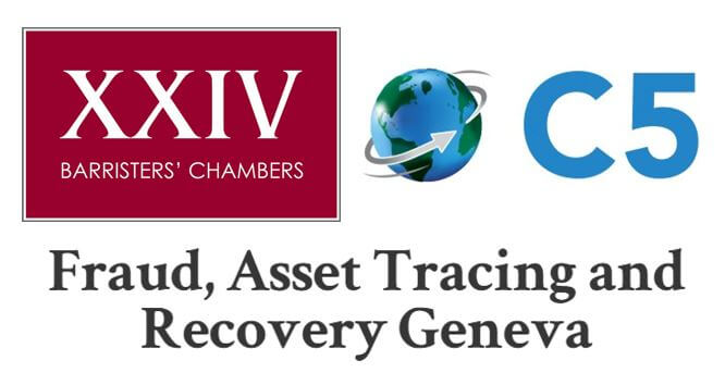Steven Thompson QC speaking at C5 Fraud, Asset Tracing and Recovery forum in Geneva