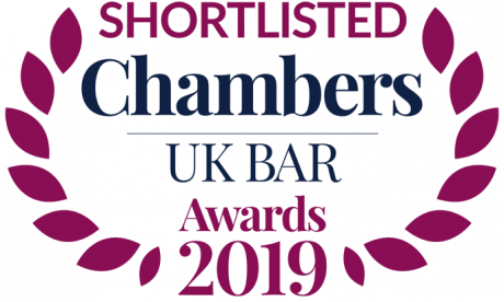 Chambers UK BAR Awards 2019: XXIV shortlisted for 2 Awards
