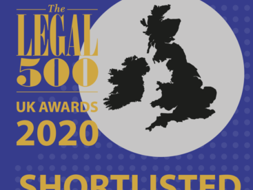XXIV Old Buildings receives four nominations in the upcoming Legal 500 2020 awards